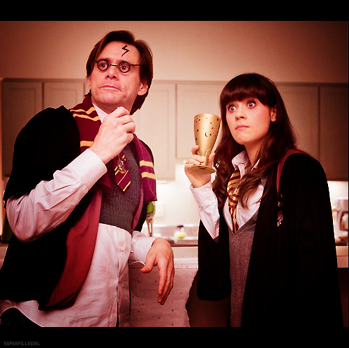 Harry potter jim carrey yes man zooey deschanel