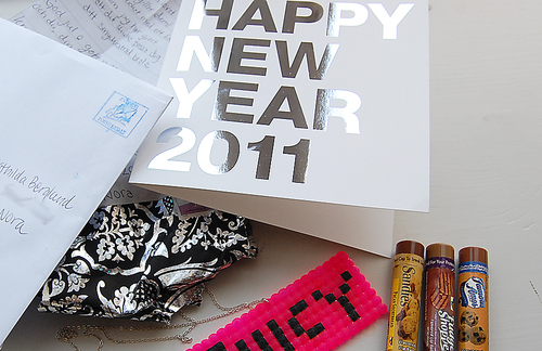 2011, card, happy new year, juicy, new year