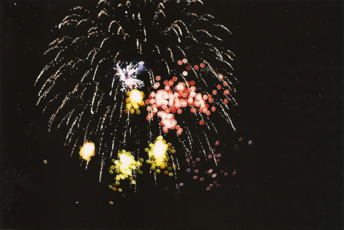 2011, film, fire works, fireworks, new year