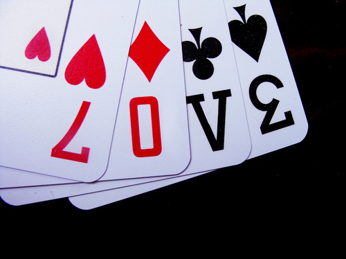 ace, cards, diamond, heart, love