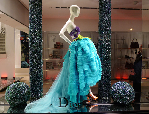 balls, beautiful, blue, dior, dress, fashion, gown, lime, mannequin, orange, purple, runway