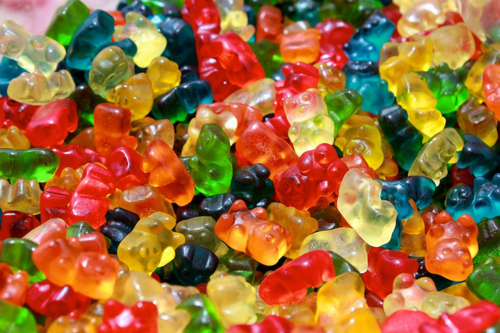 bears, bright, colourful, gummi, gummi bears