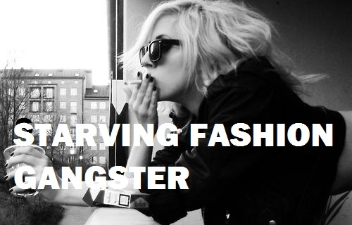 black and white, cigarette, fashion, gaga, gangster, lady gaga, new york, smoking, starving, sunglasses