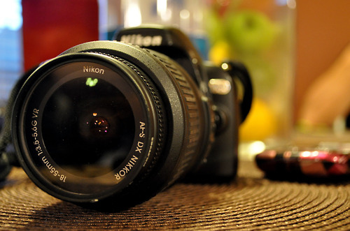 camera, depth of field, dof, dslr, nikon