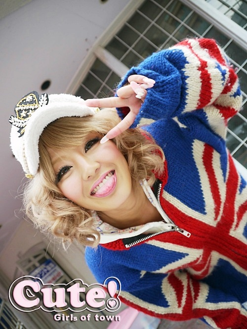 cute! girls of town, fashion, gal, girl, gyaru