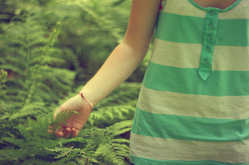 fashion, fern, frond, girl, nick cannon