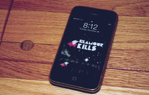 glamour kills, iphone, jailbroke, wallpaper