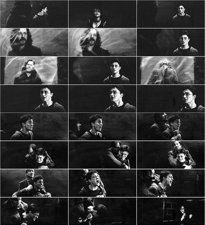 actor, black and white, boy, daniel radcliffe, harry potter, movie, remo lupin, sirius black