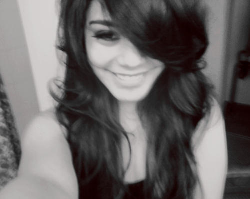 amazing, beautiful, black, cute, fashion, hair, hudgens, pretty, smile, vanessa, vanessa hudgens