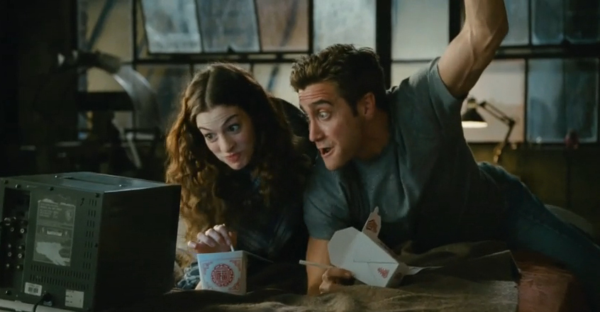 anne hathaway, jake gyllenhaal, lol, love and other drugs