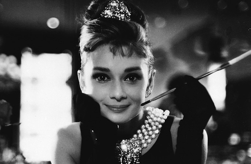 audrey, audrey hepburn, black and white, fashion, vintage