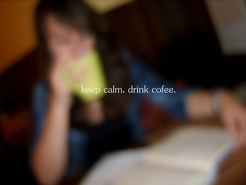 bad grammar, calm, cofee, drink, relax