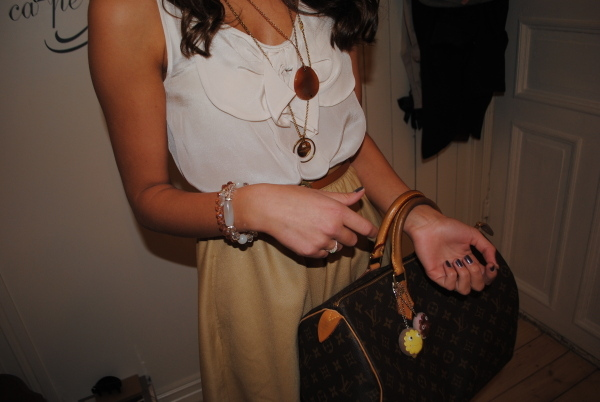 bag, cute, fashion, girl, ida wiik, louis vuitton, outfit