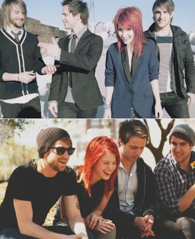 band, friends, hayley williams, jeremy davis, josh farro, paramore, smile, zac farro