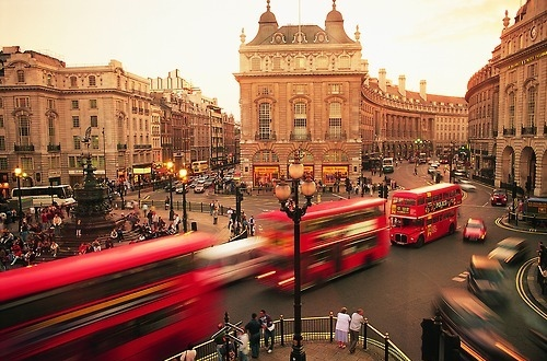 bus, double decker, england, london, red