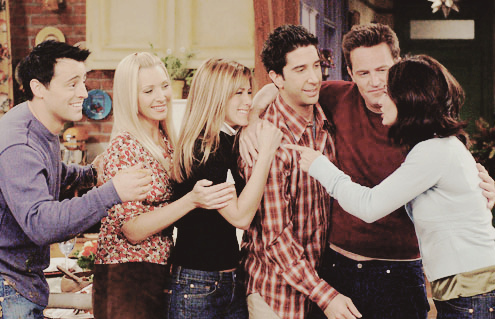 courteney cox, david schwimmer, jennifer aniston, lisa kudrow, matt leblanc, matthew perry