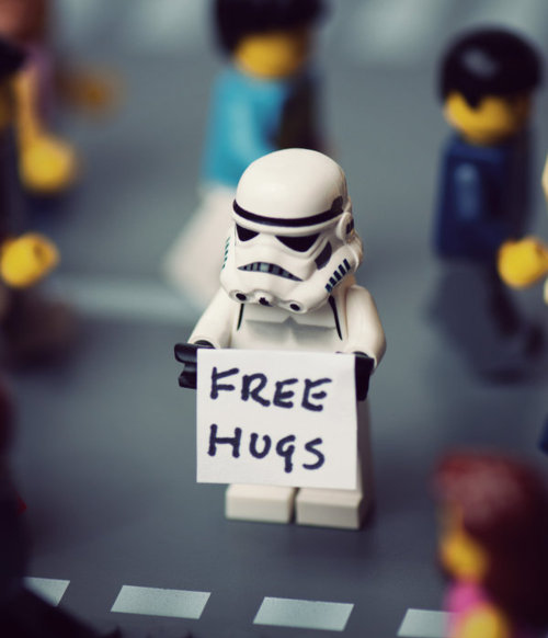 drunk, free hugs, hug, hugs, lego, love, star wars, stormtrooper