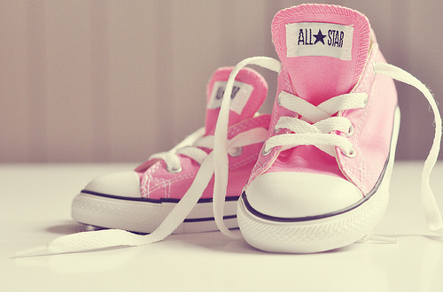 all stars, chucks, converse, fashion, pink