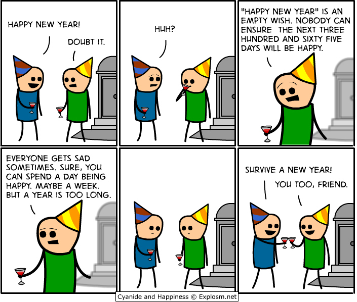and, comic, cyanide, happiness, new year