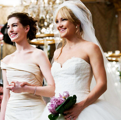 anne hathaway, bride wars, kate hudson and the devil wears parada