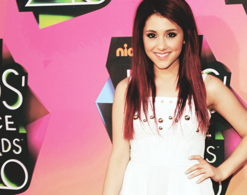 ariana grande, ariana is so cute, girl, pretty, red