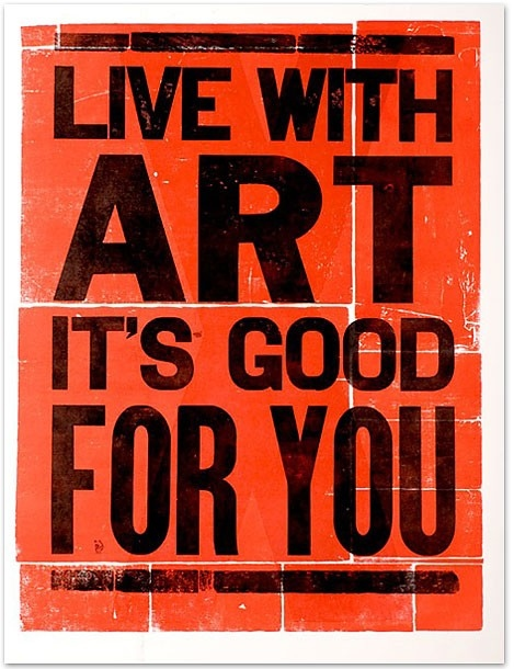 art, black, drawing, illustration, life, orange, poster, text