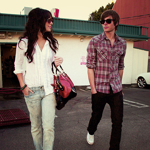 bag, beauty, celebrity, couple, cute