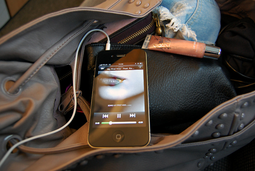 bag, beauty rush, ipod, ipod touch, itouch
