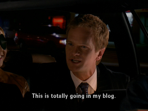 barney, blog, how i met your mother, neil patrick harris