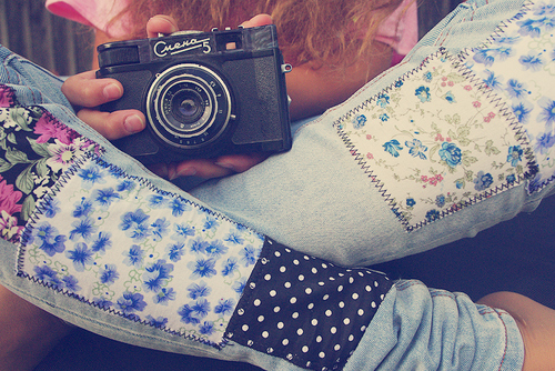 beautiful, camera, cute, fashion, flowers, girl, hair, light, photo, photography, pink, pretty, vintage