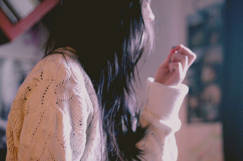 black hair, fashion, girl, hair, hand