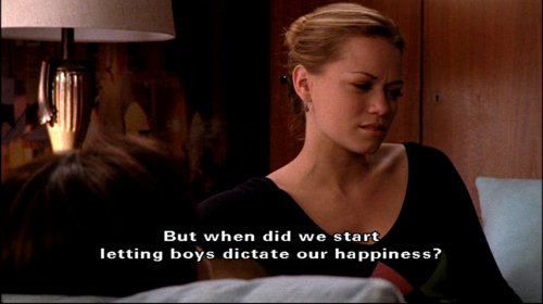 boys, haley james scott, one tree hill, quote