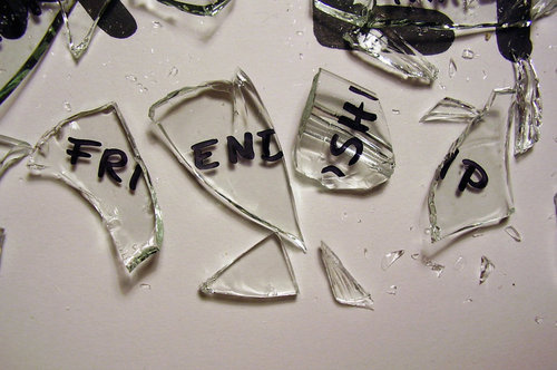 broken, broken friendship, friendship, glass