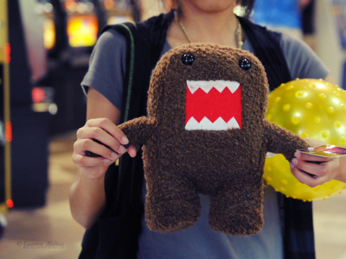 cute, domo, funny, girl, rawr