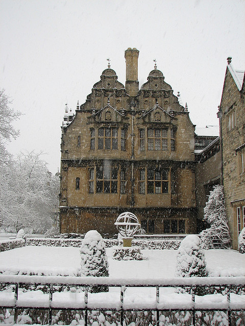 england, frost, oxford, oxford university, snow