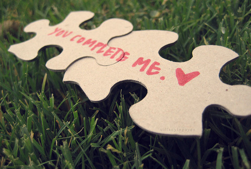 gatica, grass, heart, love, puzzle