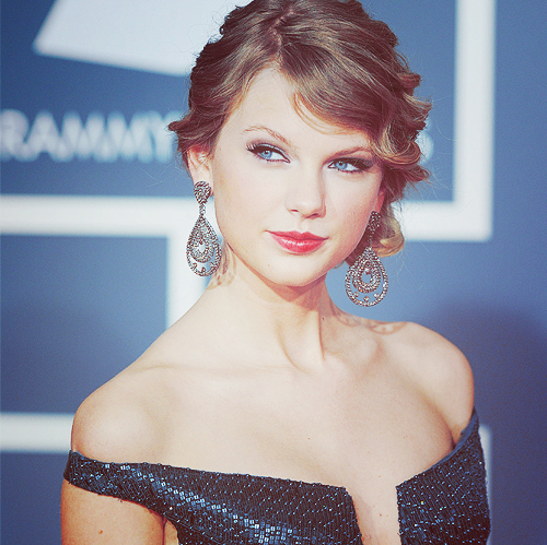 beautiful, blond, blonde, blue eyes, diamond, dress, earrings, girl, taylor swift
