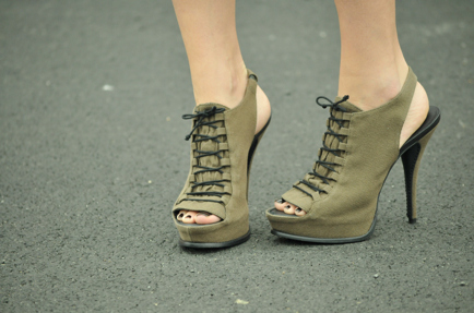 beautiful, cut, fashion, military, shoes