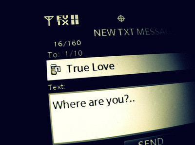 because, couple, love, message, send, text, true love
