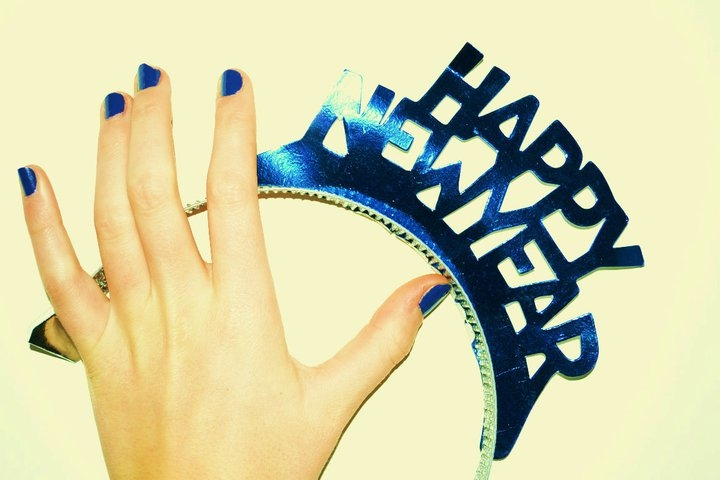 blue, girls hand, hand, happy, nail polish