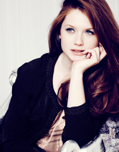 bonnie wright, fashion, ginny weasley, girl, harry potter