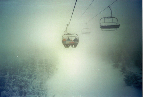 chair, chairlift, cold, fly, flying