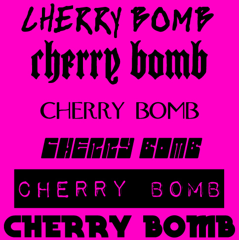 cherry bomb, fuschia, joan jett, music, pink, punk, the runaways