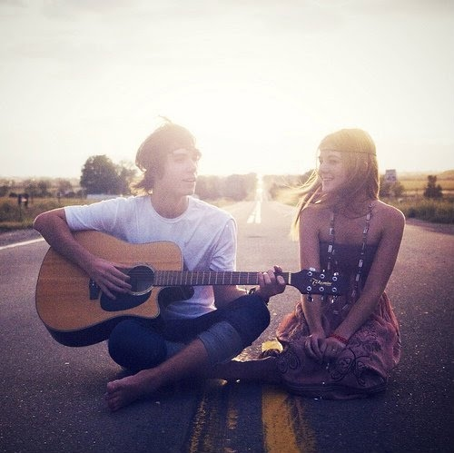 couple, couple cute, cute, friendship, guitar