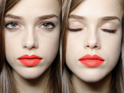 eyes, face, julia saner, lipstick, make up