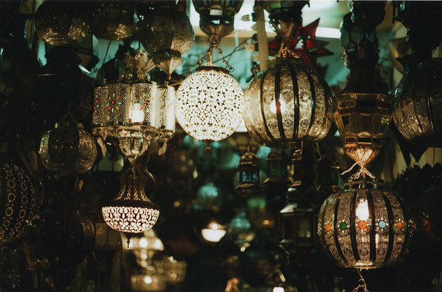 lamps, lanterns, lights, pretty