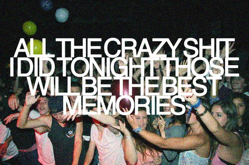 lyrics, memories, music, party, quote