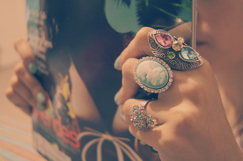 accesories, antique, cute, rings