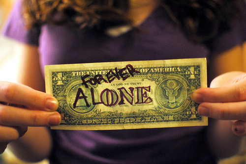 alone, america, bank, bill, cash