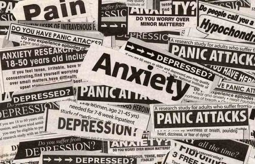 anxiety, black and white, depression, pain, panic attack